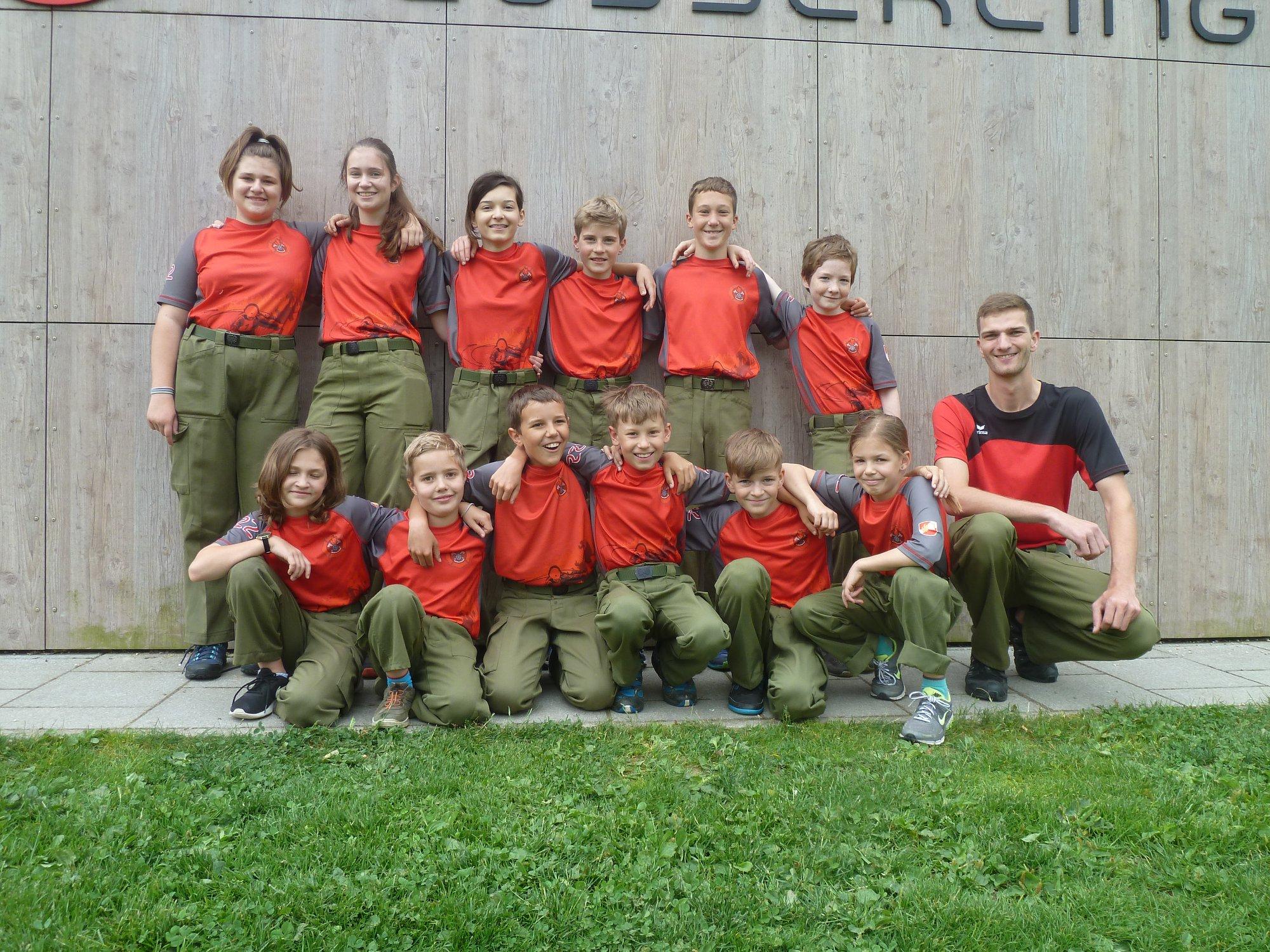 Jugendbewerb in Herzogsdorf