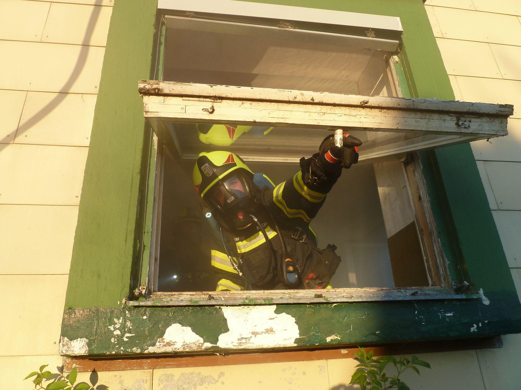 Monatsübung – Wohnhausbrand