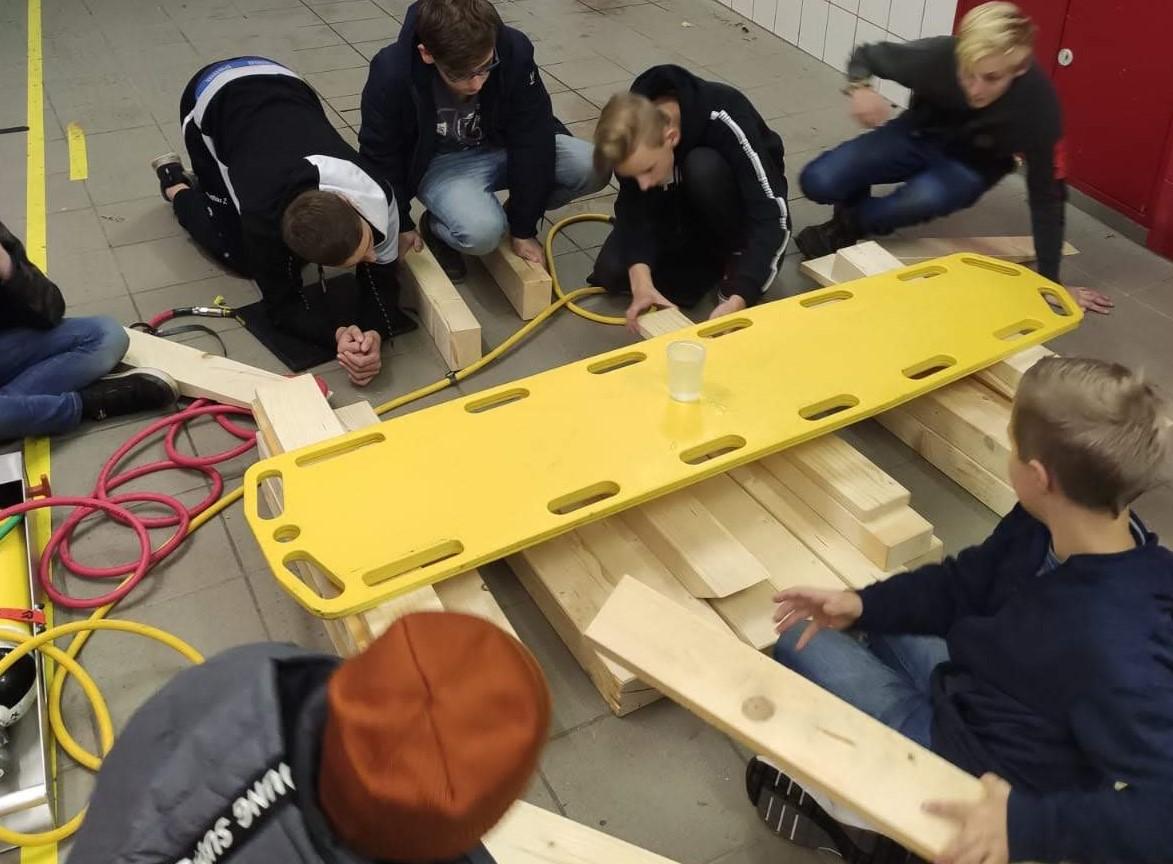 Jugendübung – Teamarbeit
