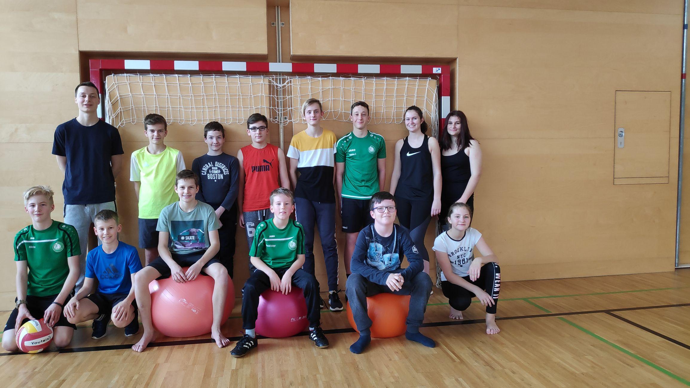 Jugendübung – Turnsaal