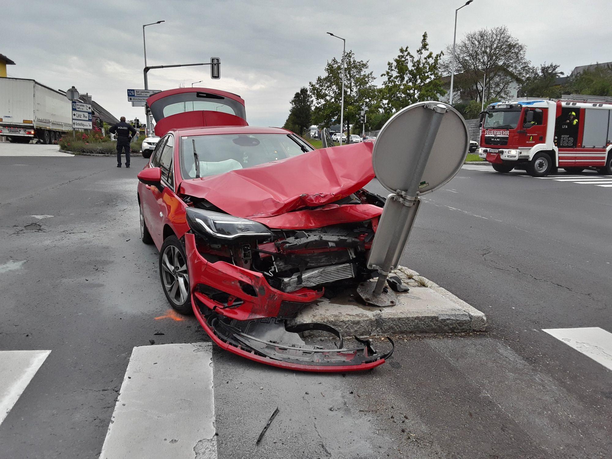 Verkehrsunfall – B126