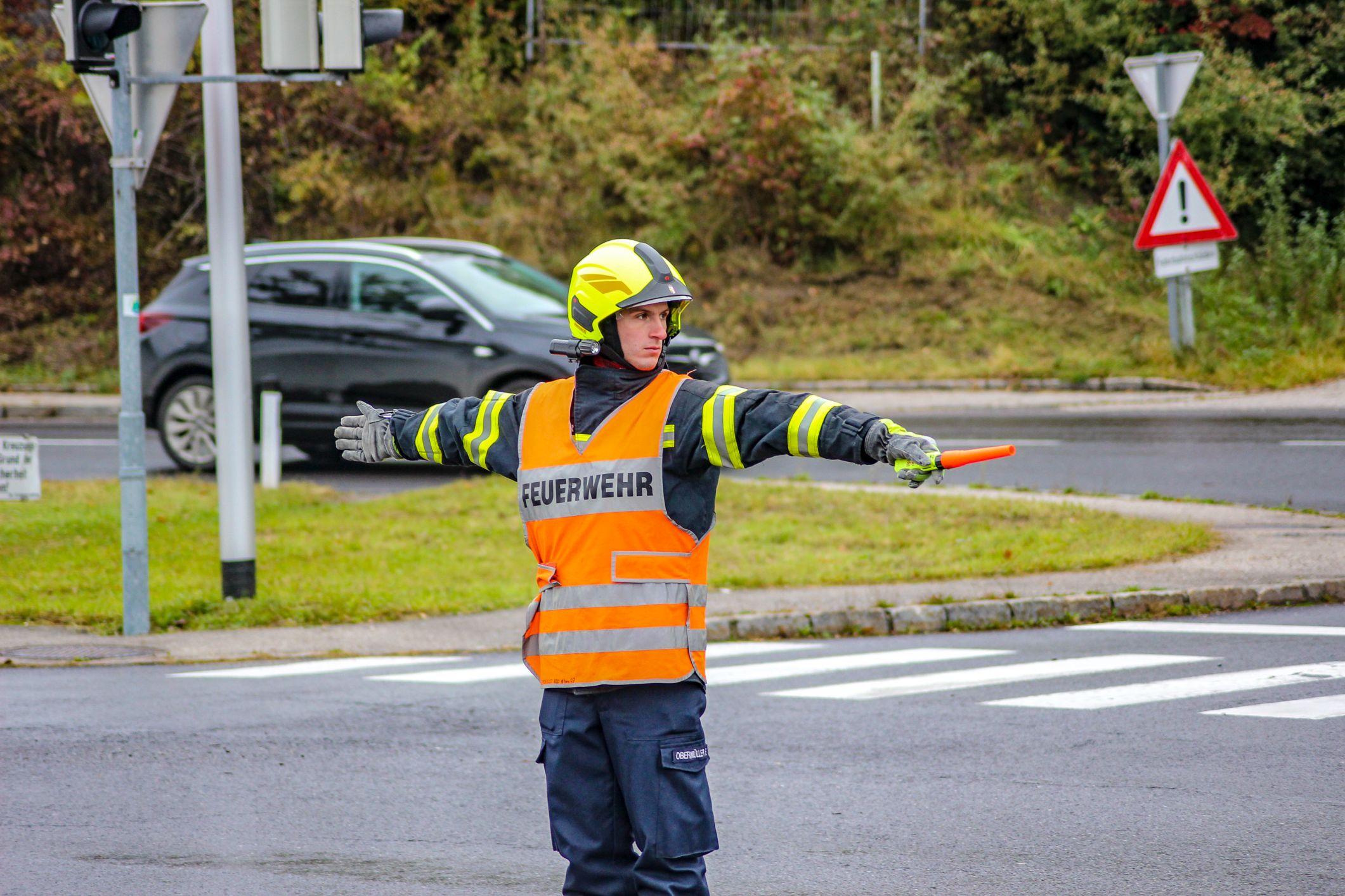 Verkehrsregler-Lehrgang